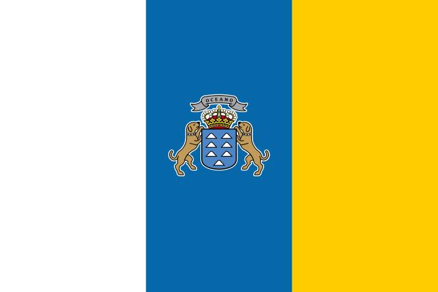 Флаг: Канарские острова