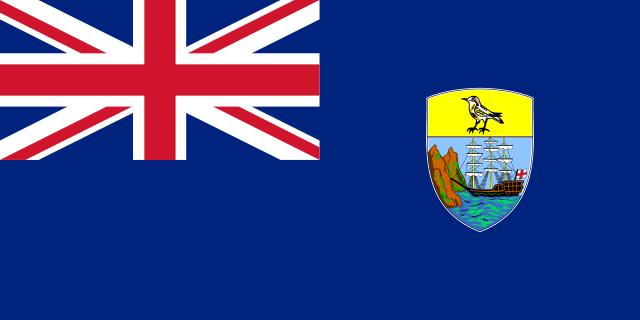 Флаг: Острова Святой Елены, Вознесения и Тристан-да-Кунья
