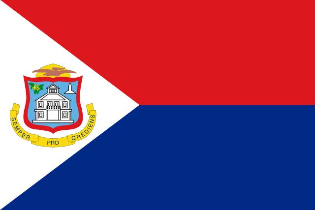 Флаг: Синт-Мартен