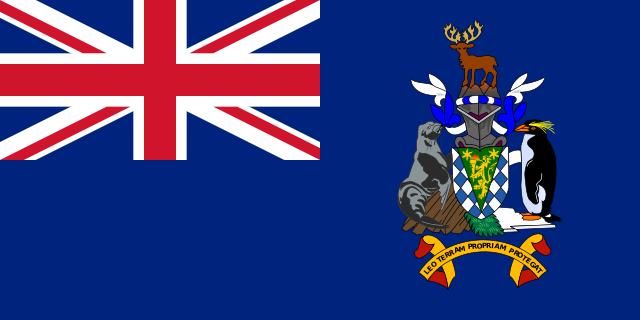Флаг: Южная Георгия и Южные Сандвичевы острова