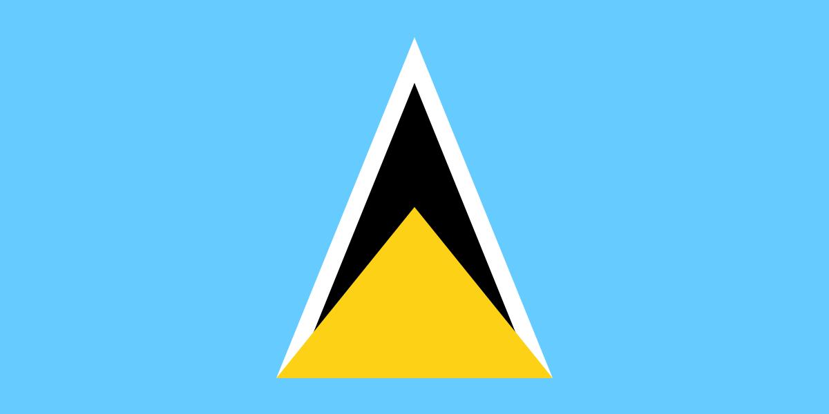 Флаг: Сент-Люсия