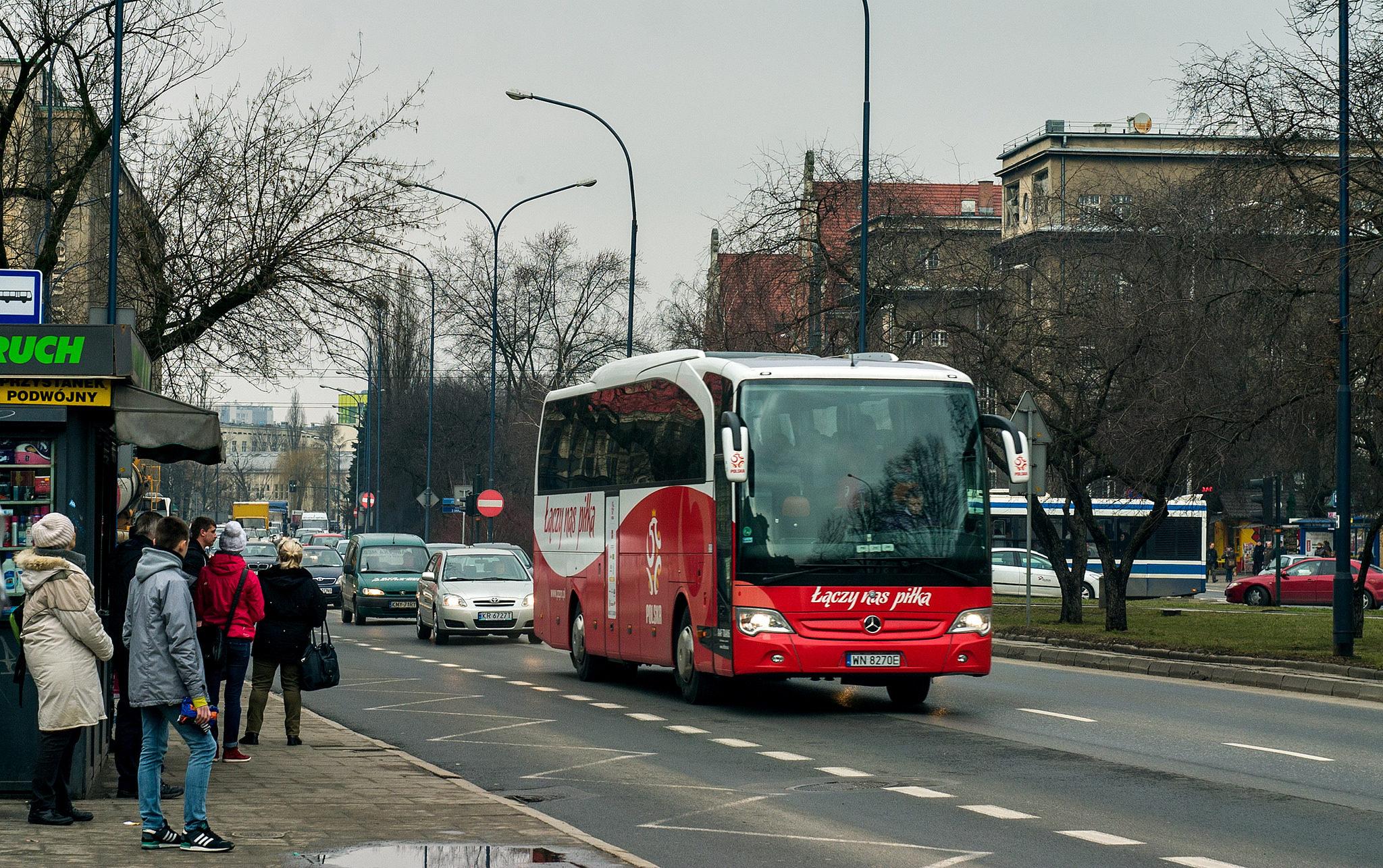 Краков, городской транспорт