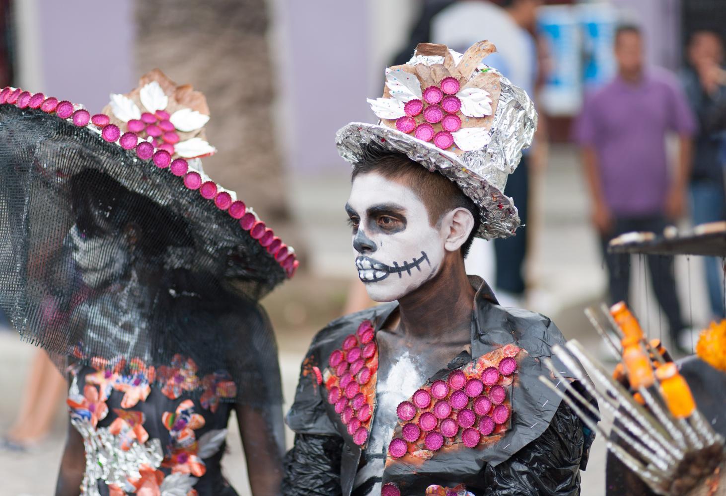 El Dia De Los Muertos  (Мексиканский праздник мертвых)