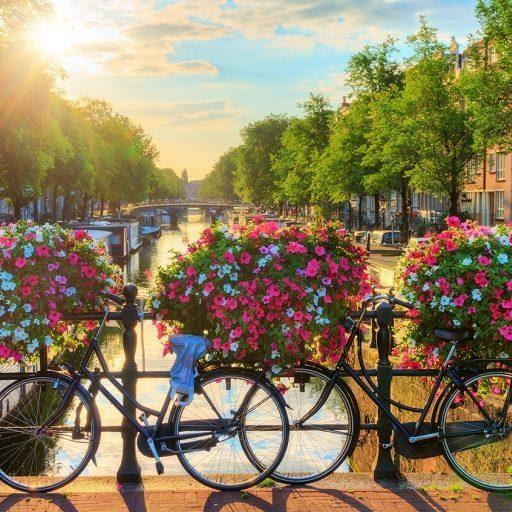 Карта тайных мест Амстердама