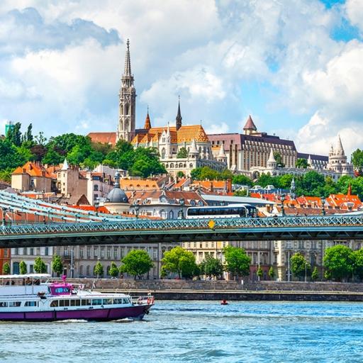 Карта тайных мест Будапешта