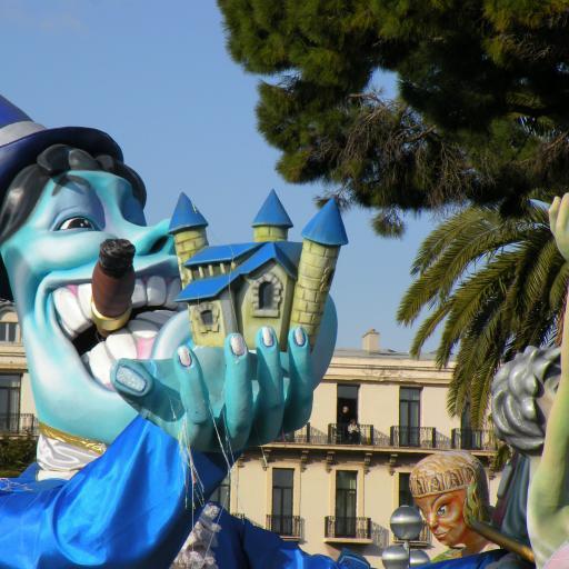 Ежегодный карнавал в Ницце