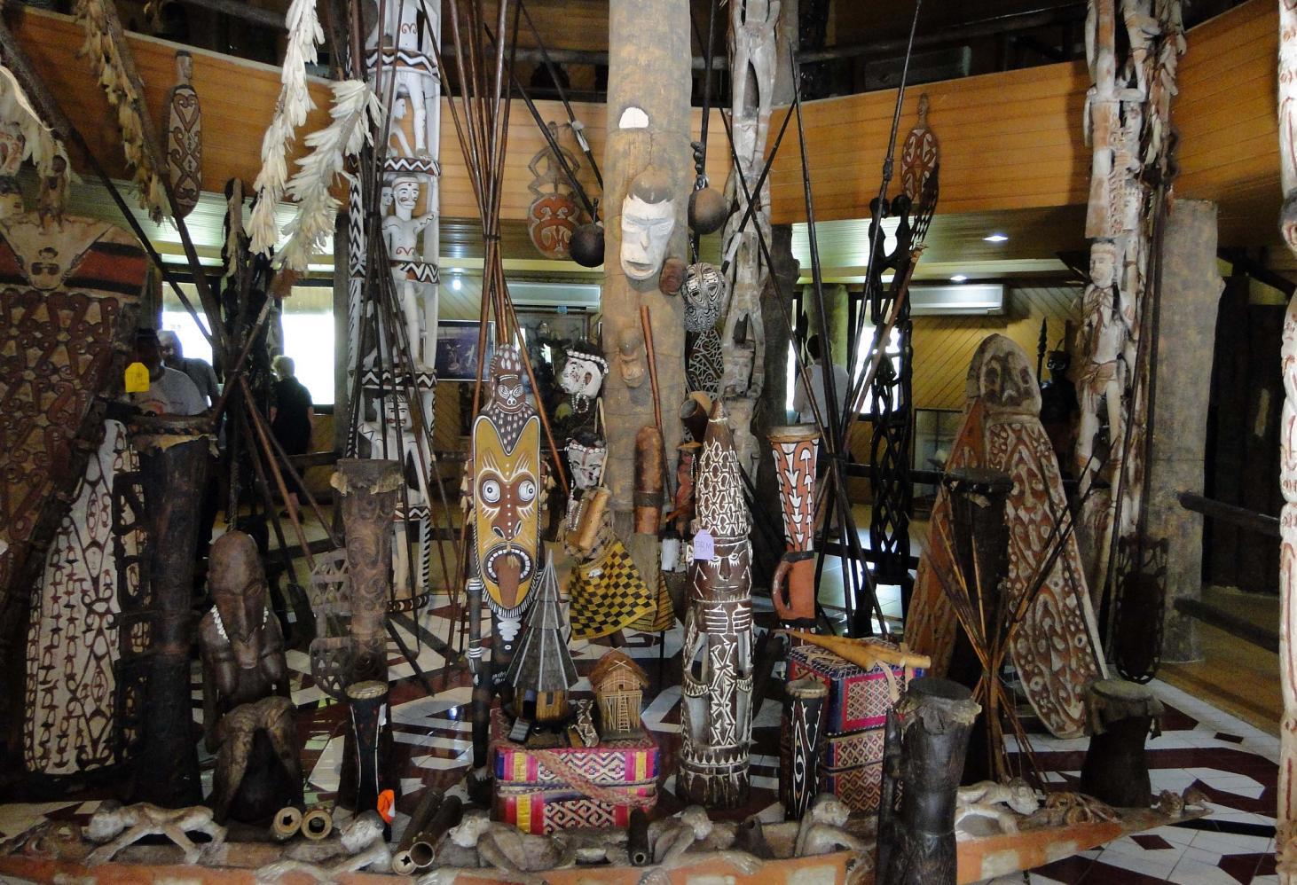 Сувенирные лавки Индонезии