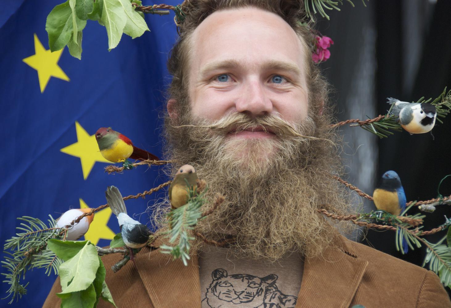 Каждая борода - маленькое произведение искусства