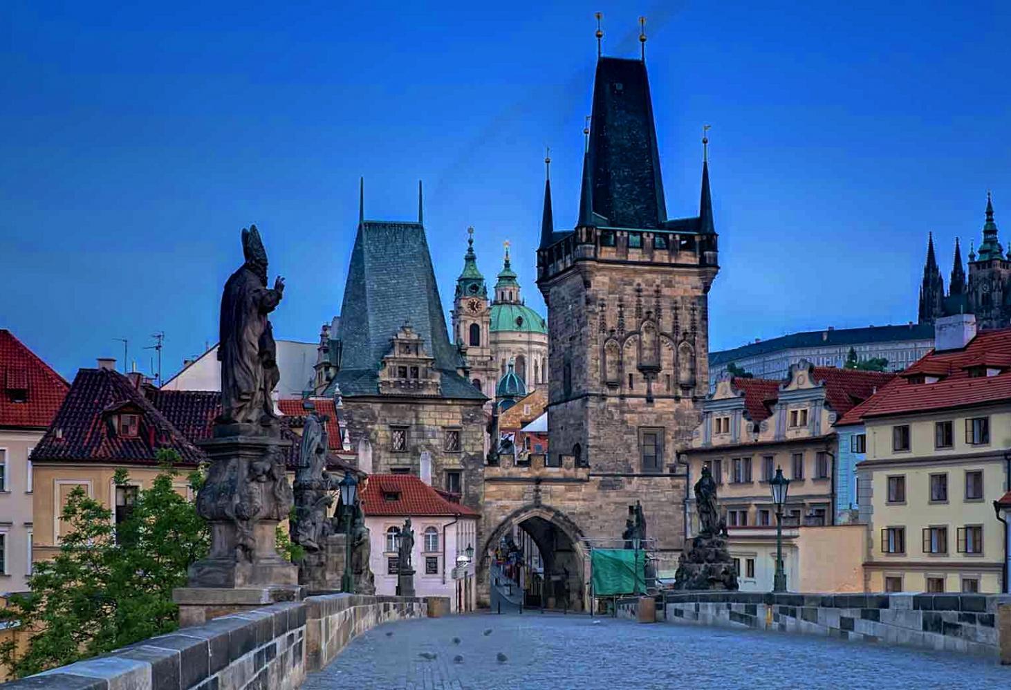 Карлов мост (Karlův most). Прага. Чехия