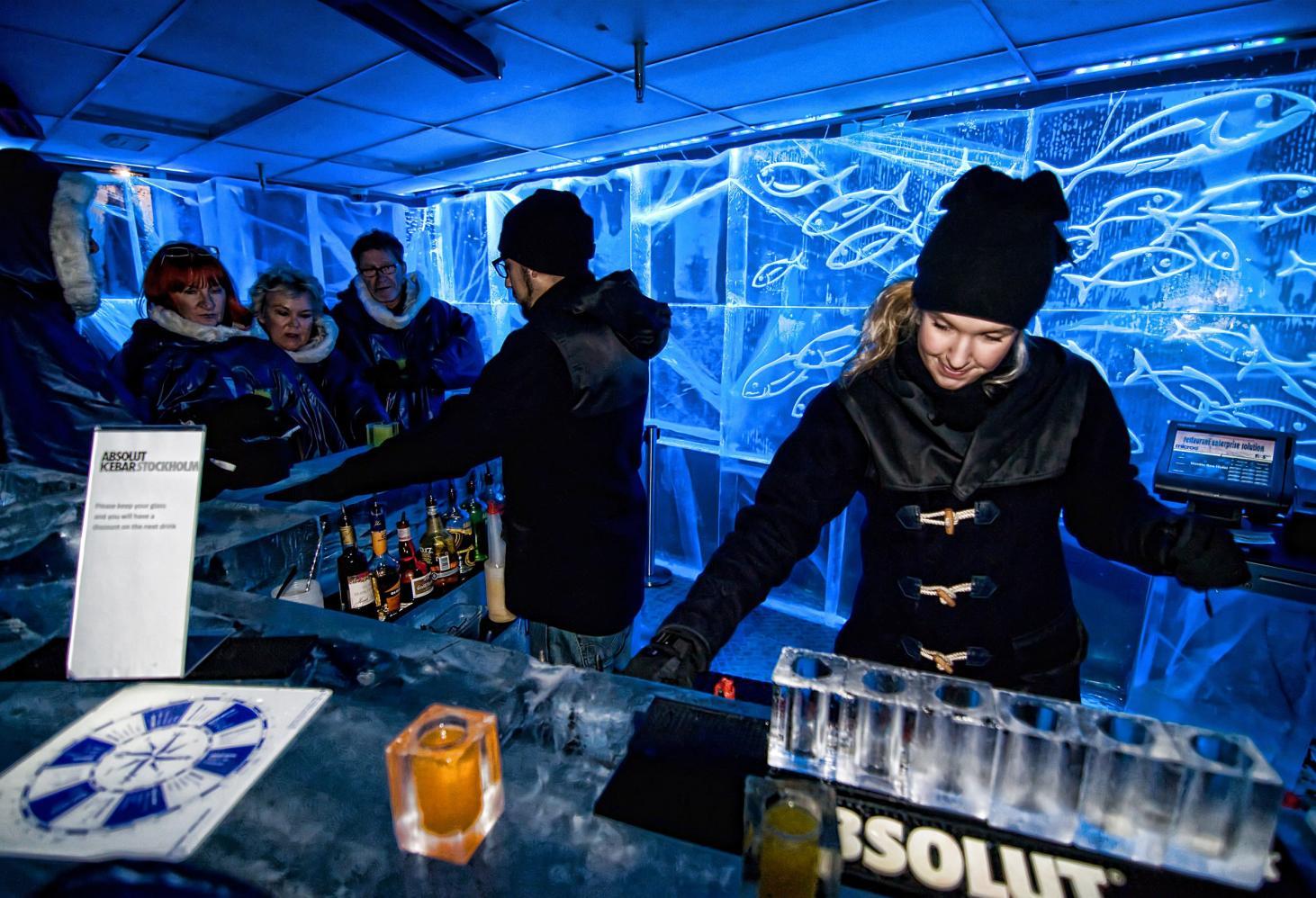 Ледяной бар (Absolut Icebar), Швеция