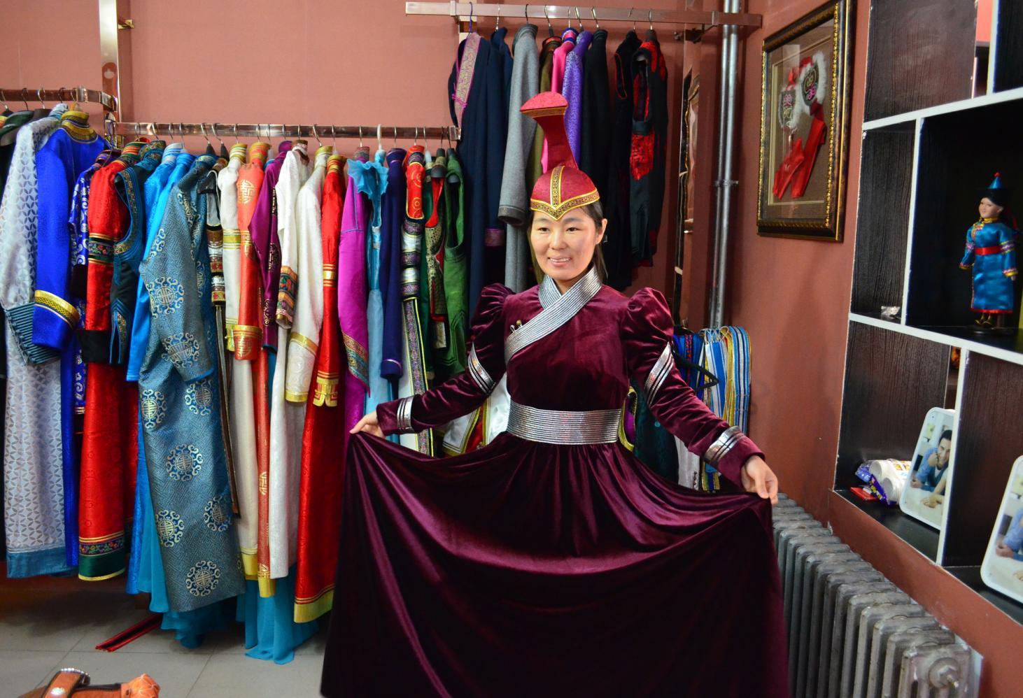 Сувенирная индустрия Монголии