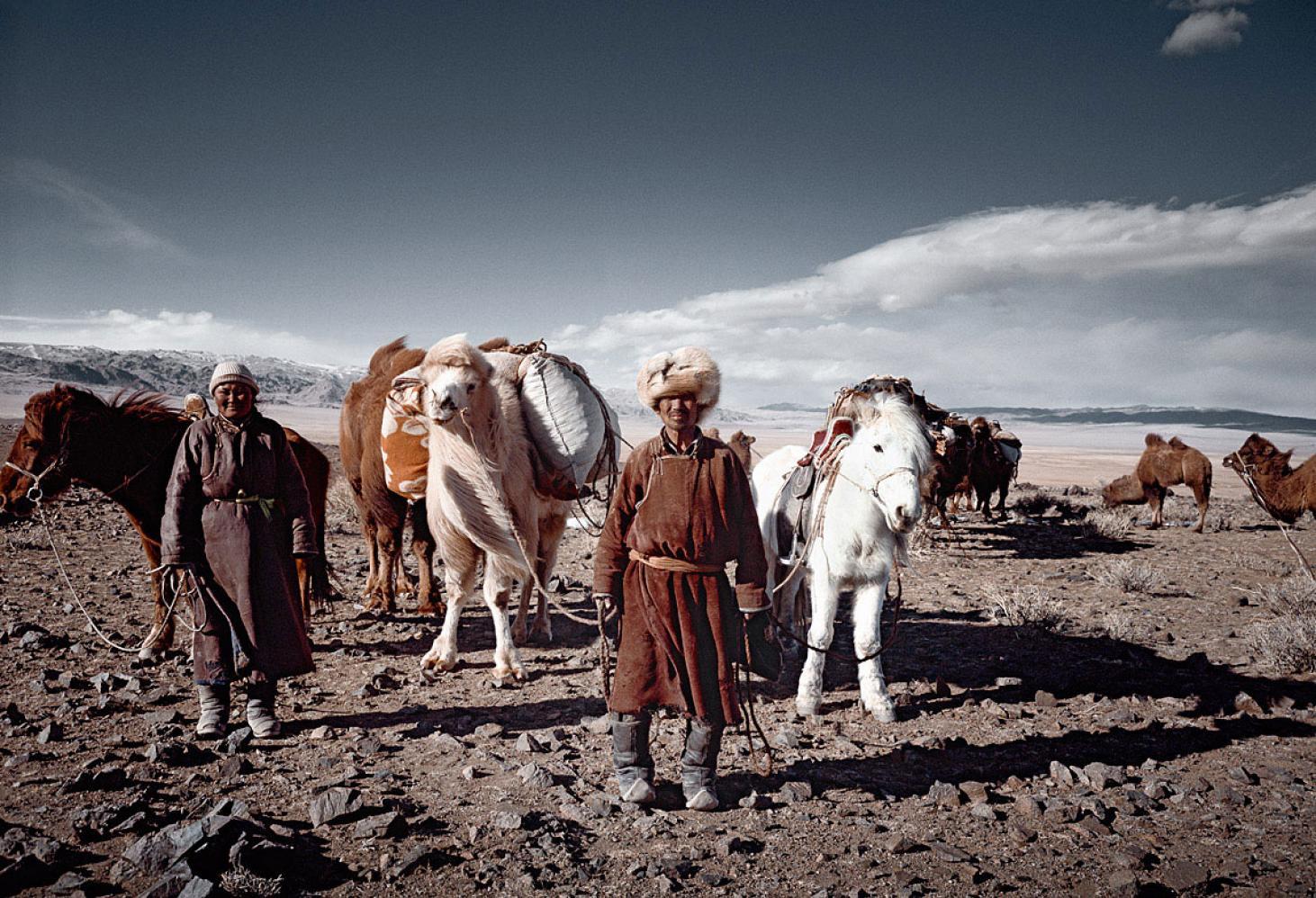 Монголия. Народ Цаатаны (Tsaatan)