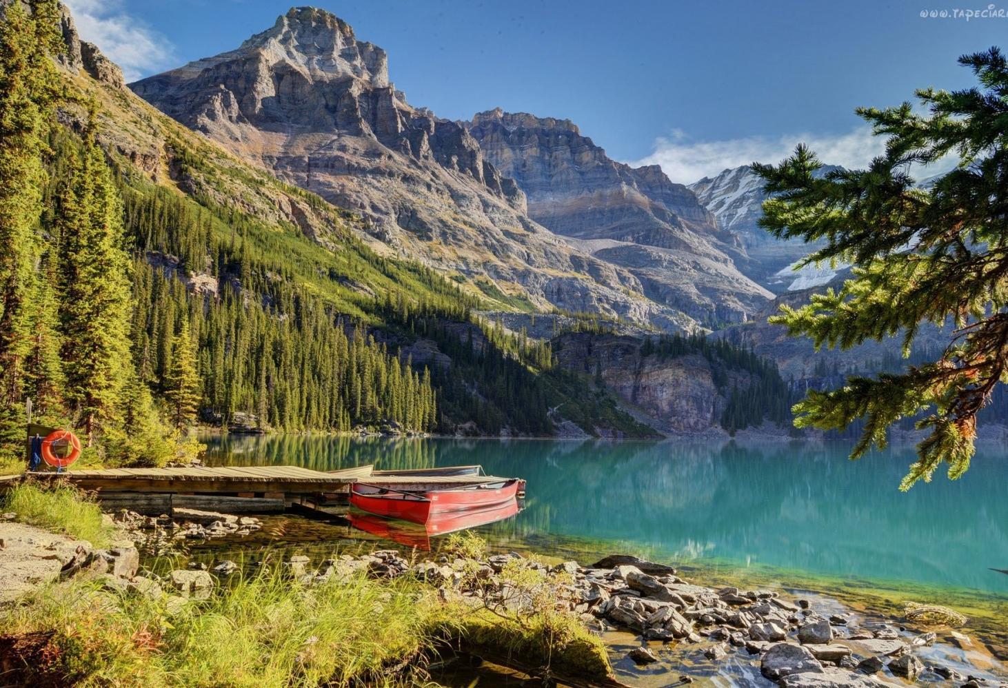 Озеро О'Хара (Lake O'Hara), Канада
