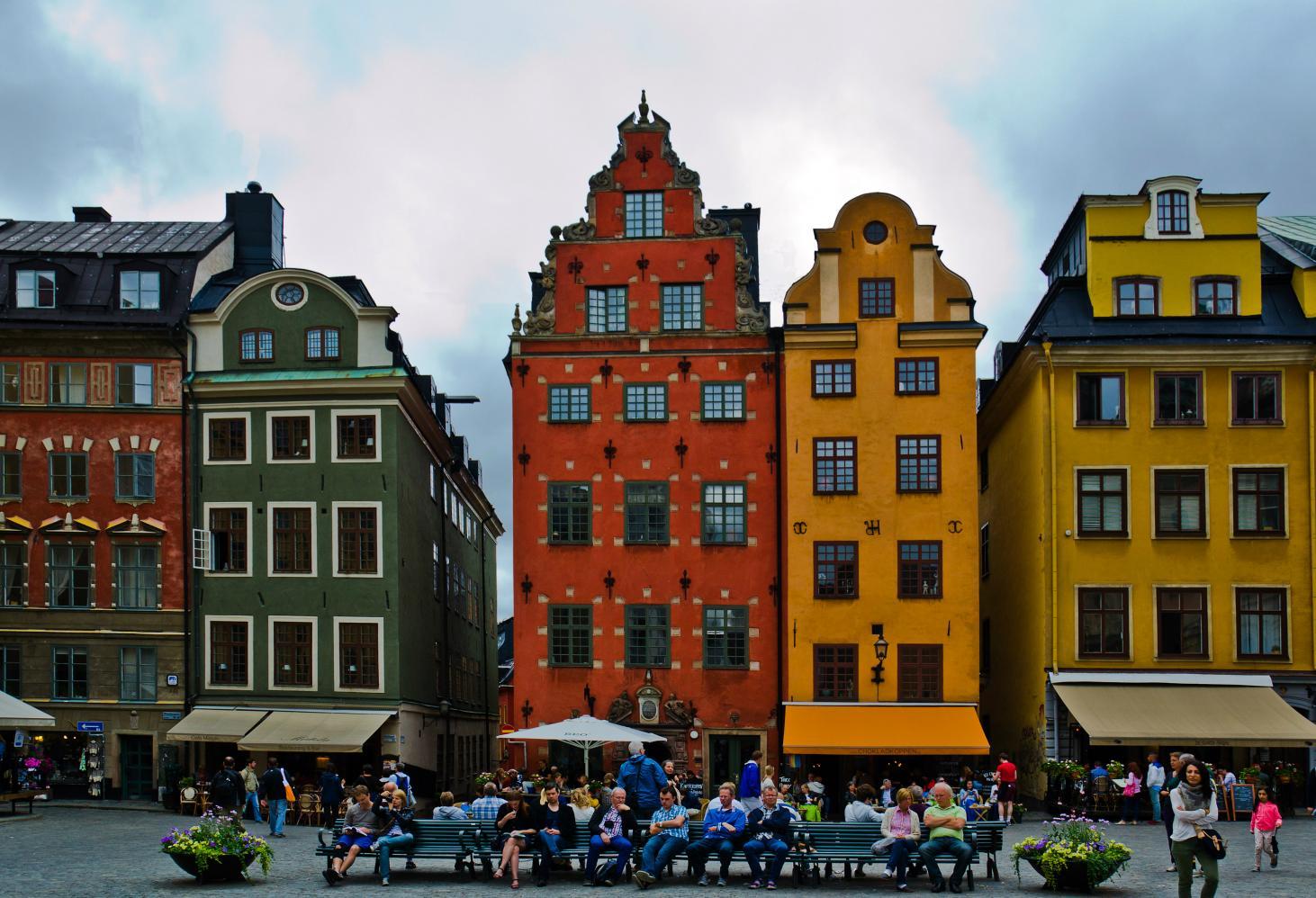 Площадь Стурторьет, Стокгольм (Швеция)