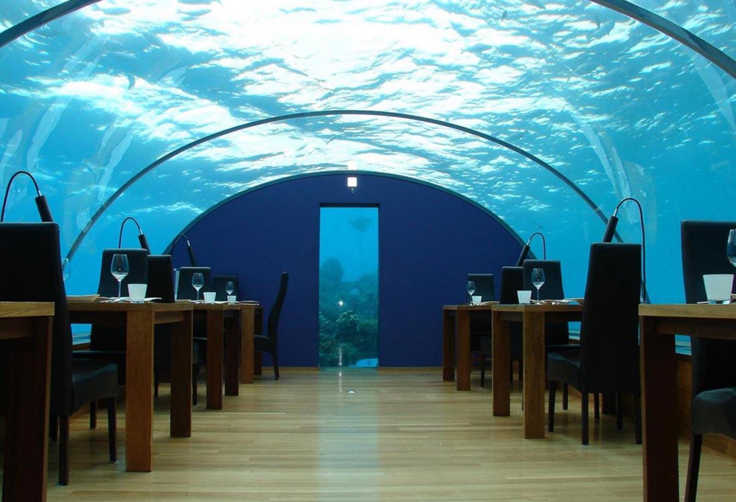 Подводный отель Jules' Undersea Lodge. Флорида. США