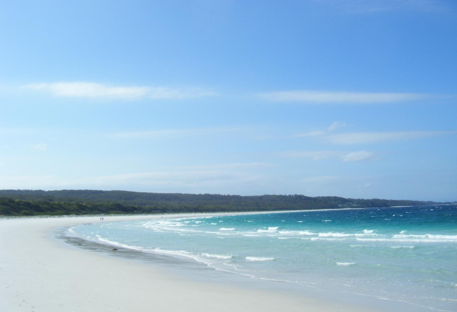 Белый пляж Хайамс, Новый  Южный Уэльс, Австралия