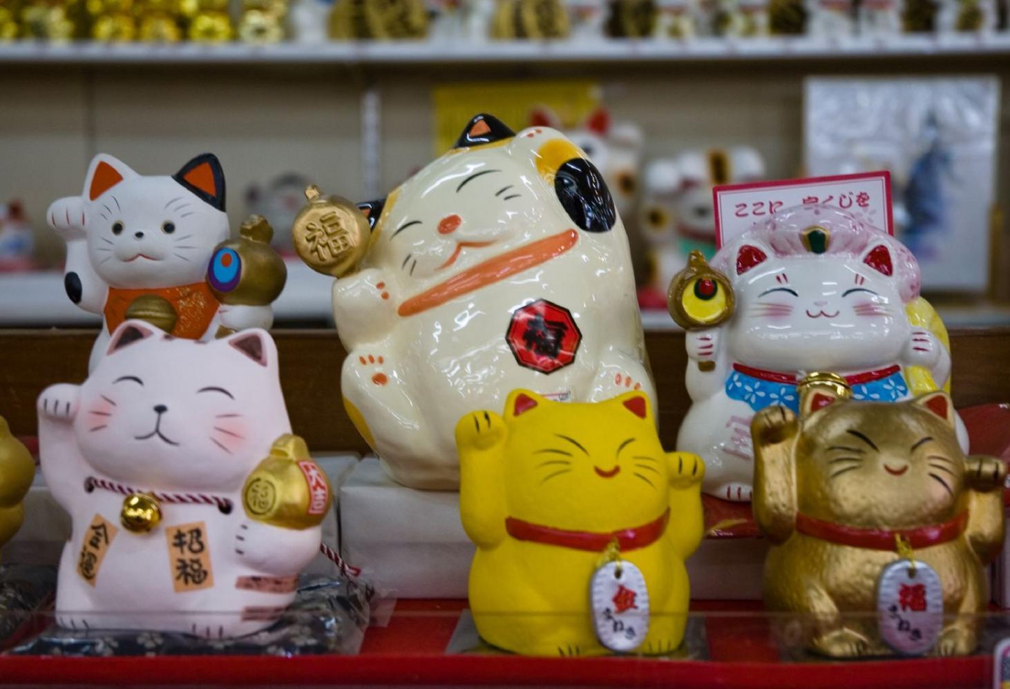Местный колорит. Сувениры из Японии