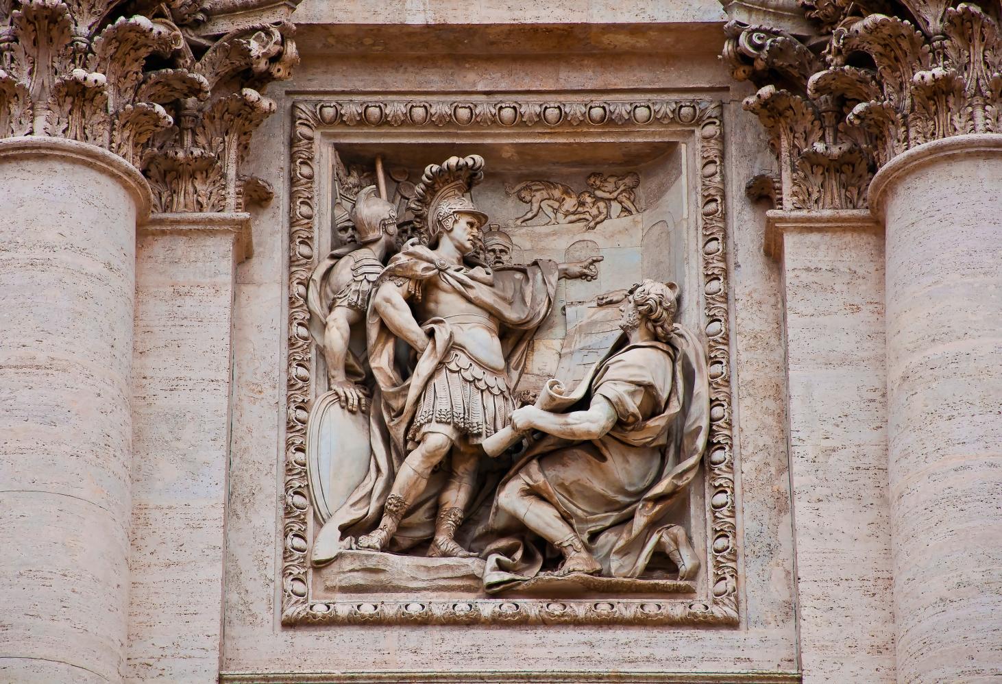 Фонтан Треви в Риме, Италия