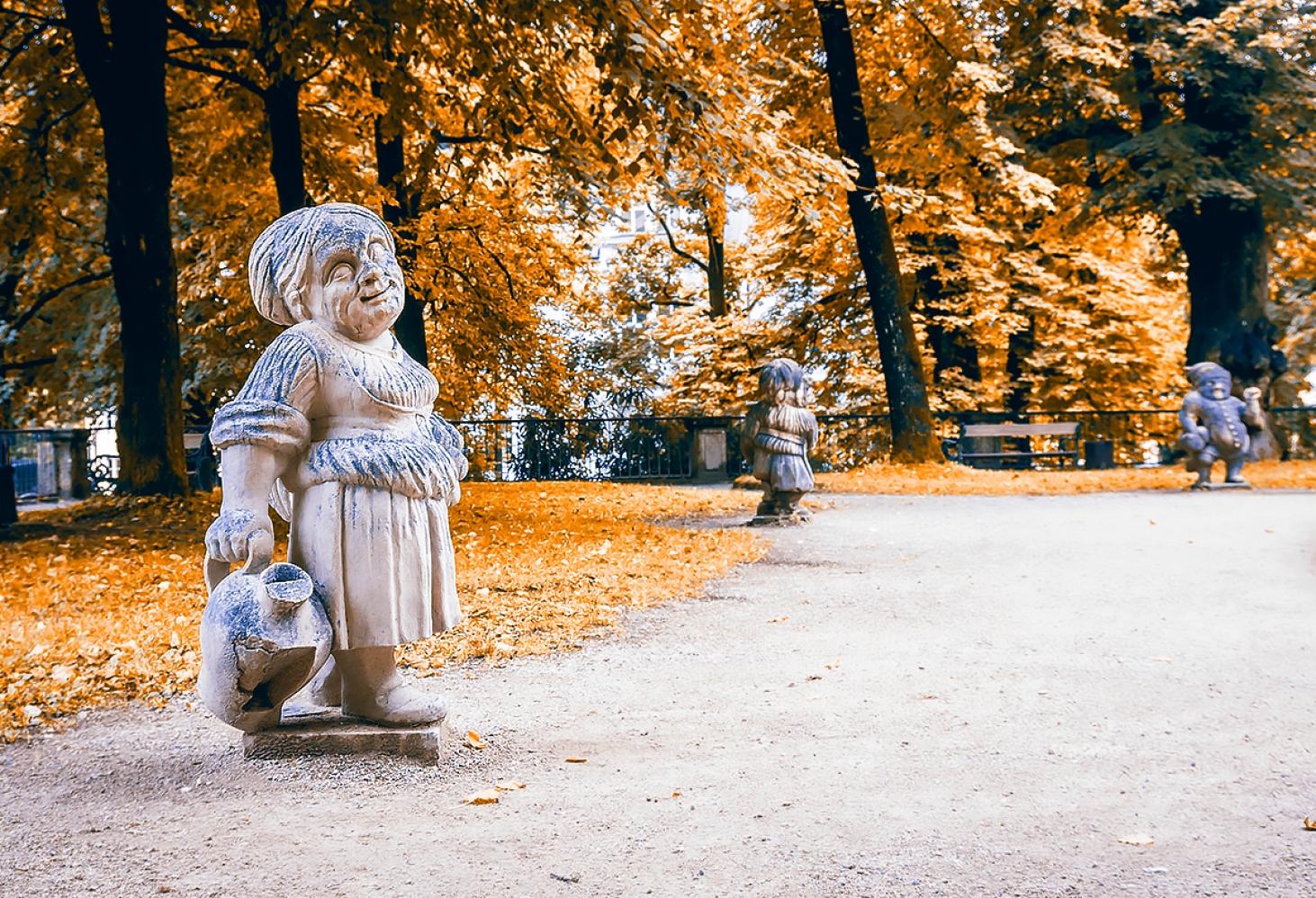 Сад Гномов в Зальцбурге, Австрия