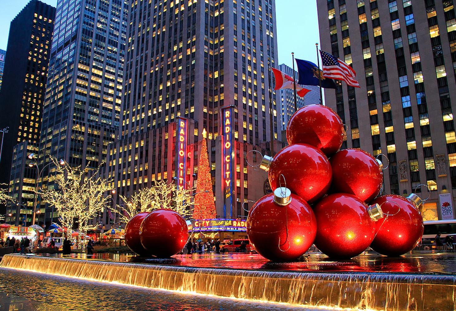 Новогодние и рождественские традиции США