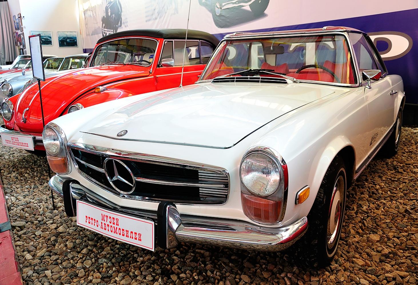 Музей ретро автомобилей Рогожском Валу
