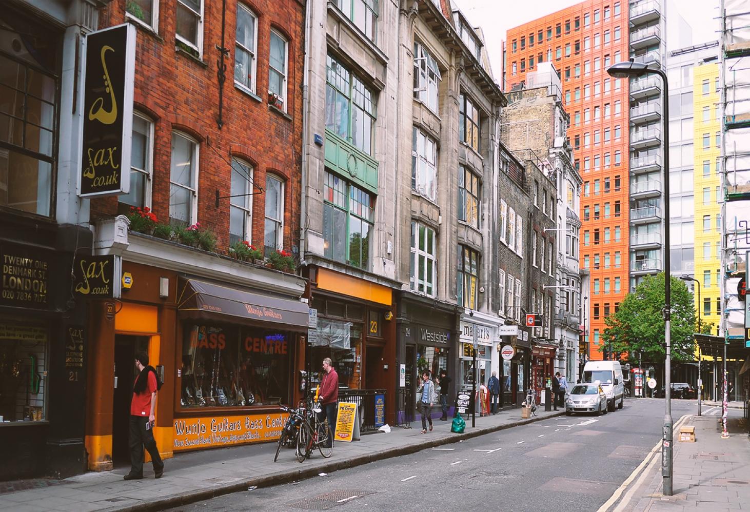 Денмарк-Стрит, Лондон