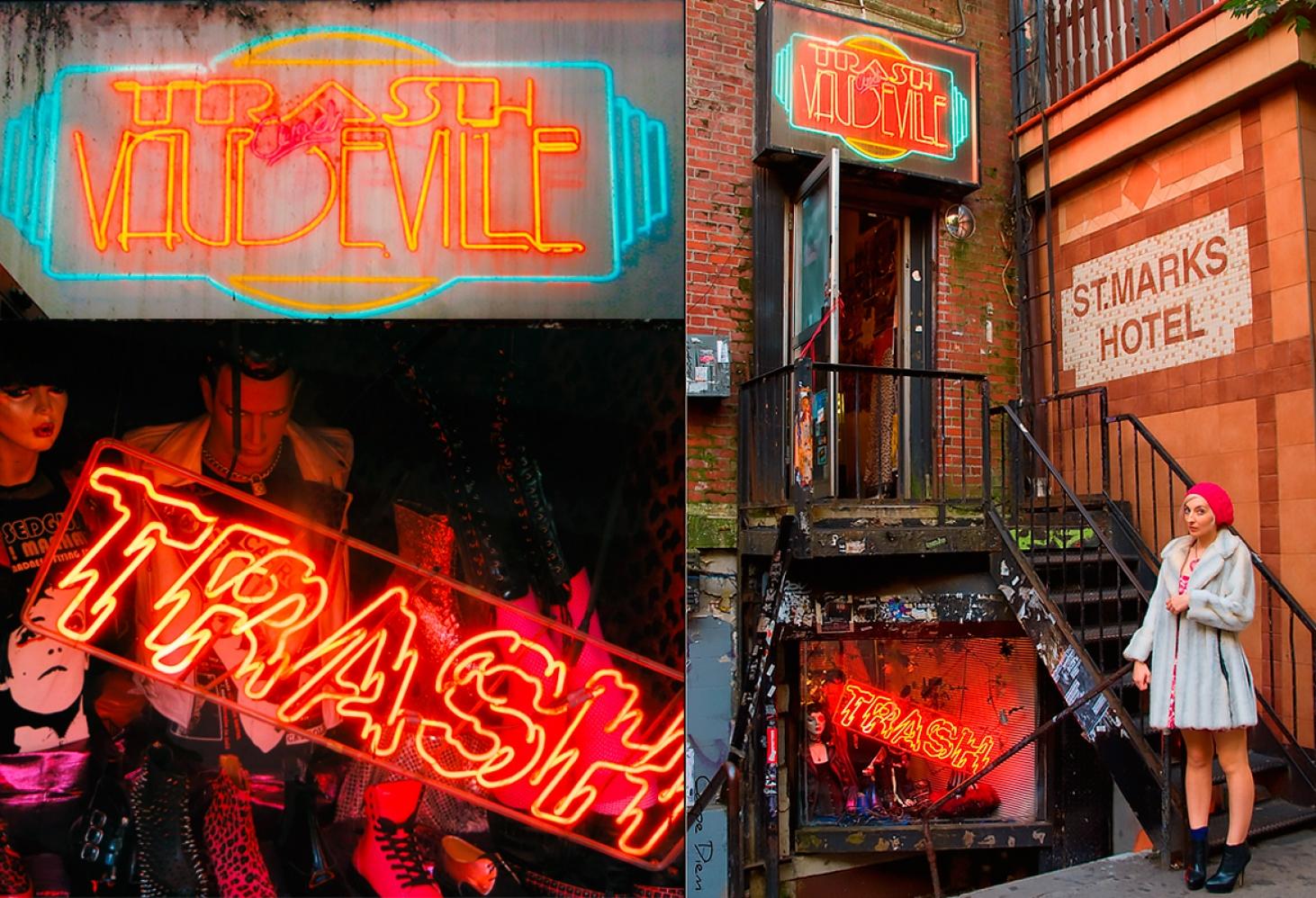 Trash and Vaudeville, Нью-Йорк
