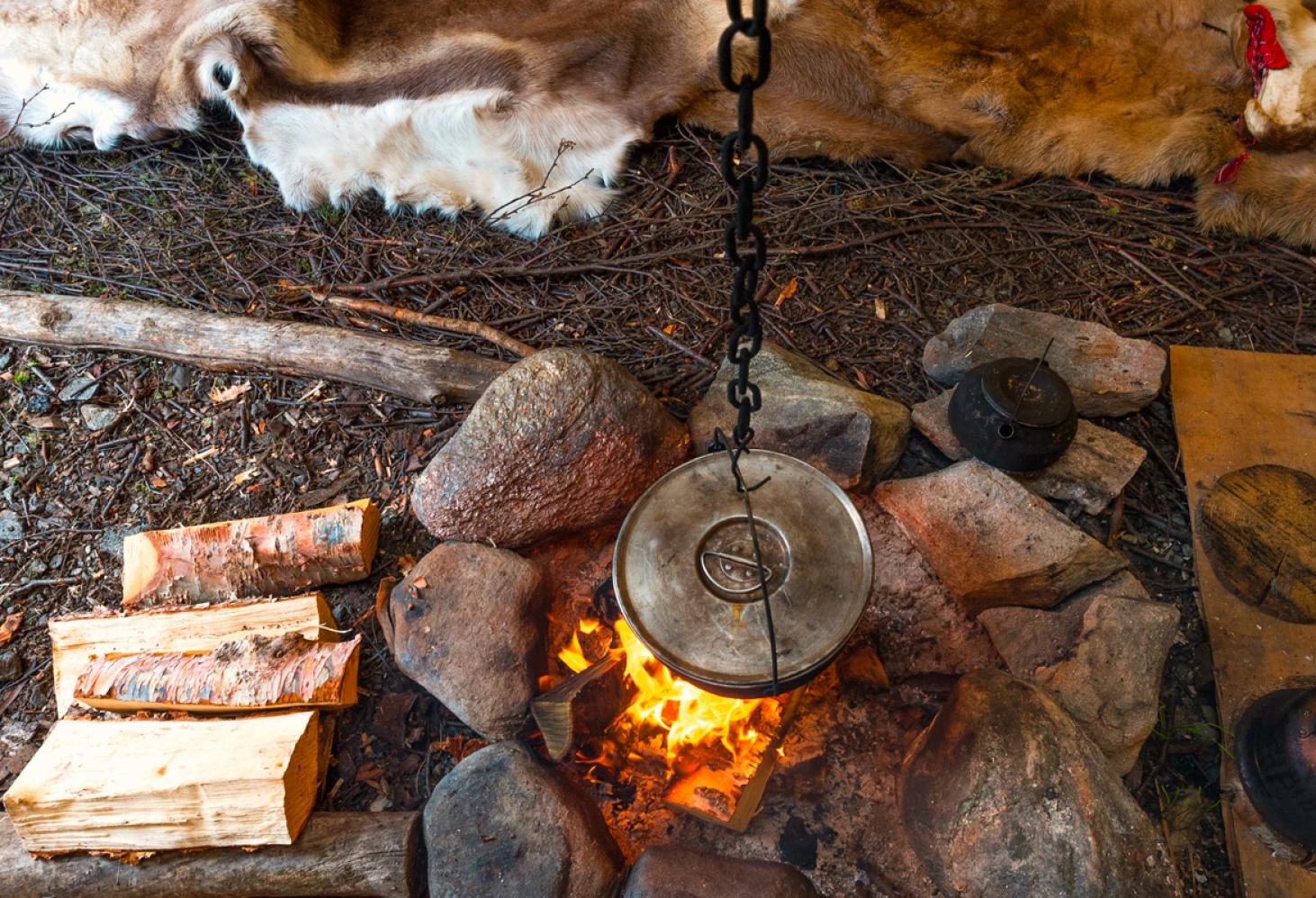 Отдых на древней земле Саамов