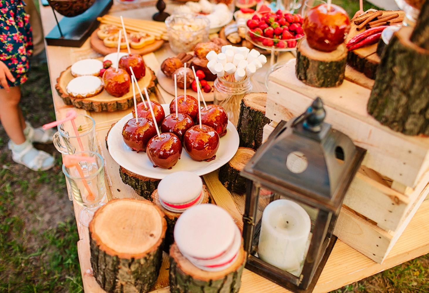 Яблочки в карамели