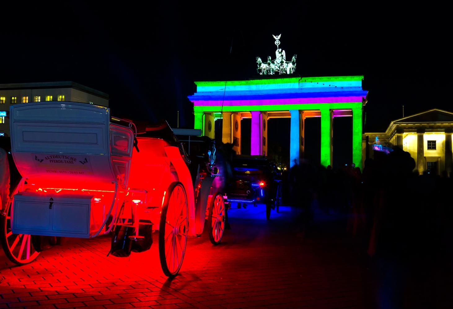 Фестиваль Света в Берлине. сентябрь - октябрь