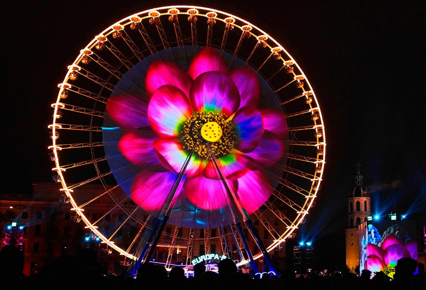 Праздник Света в Лионе. декабрь