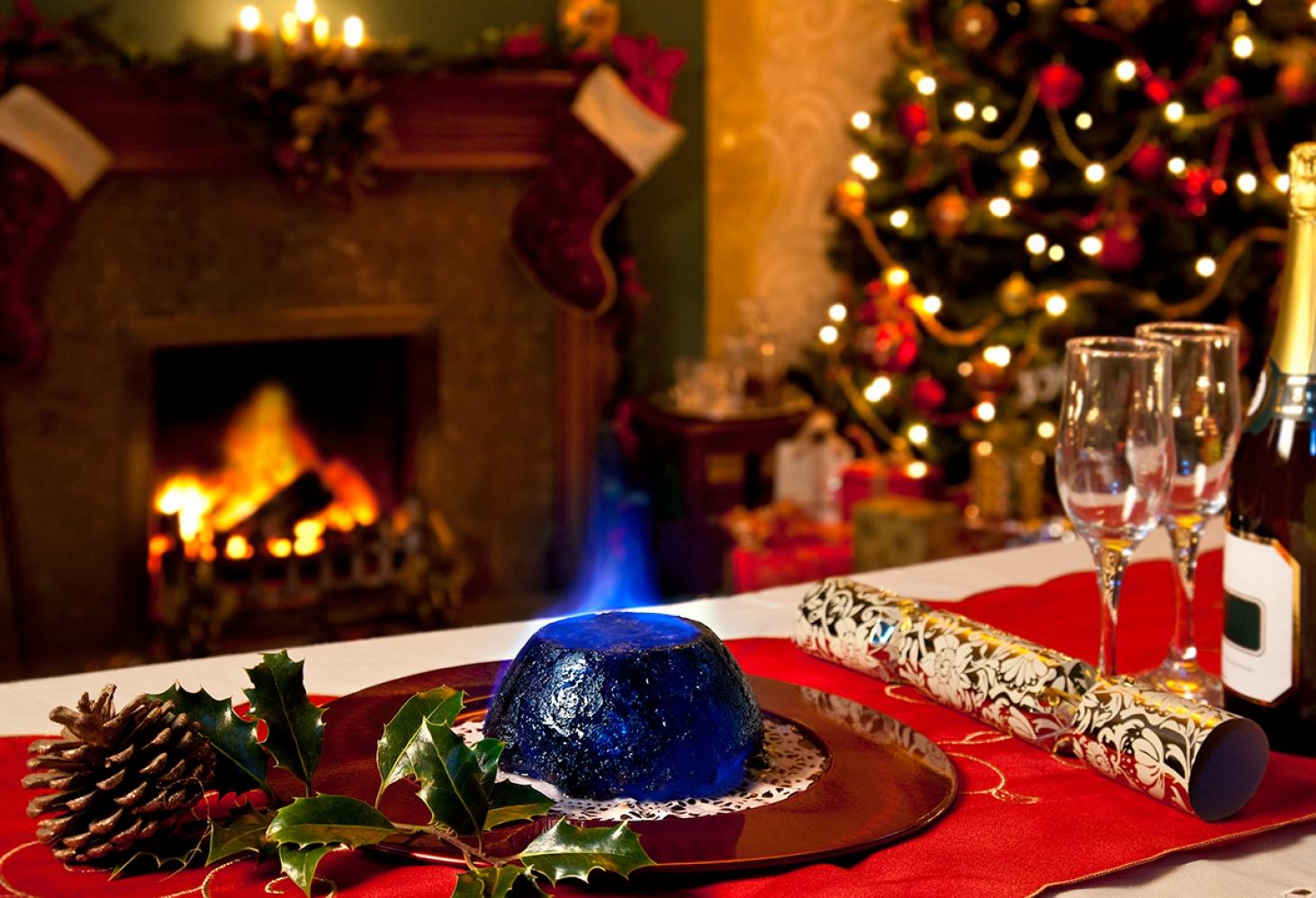 Рождественский пудинг
