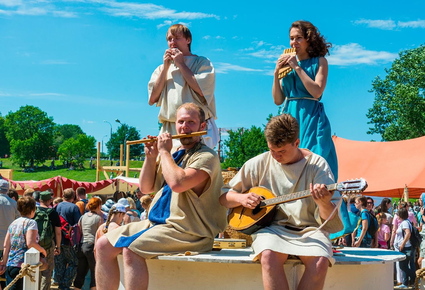Исторический фестиваль «Времена и эпохи», Москва, Россия 01.06. 2017-12.06. 2017
