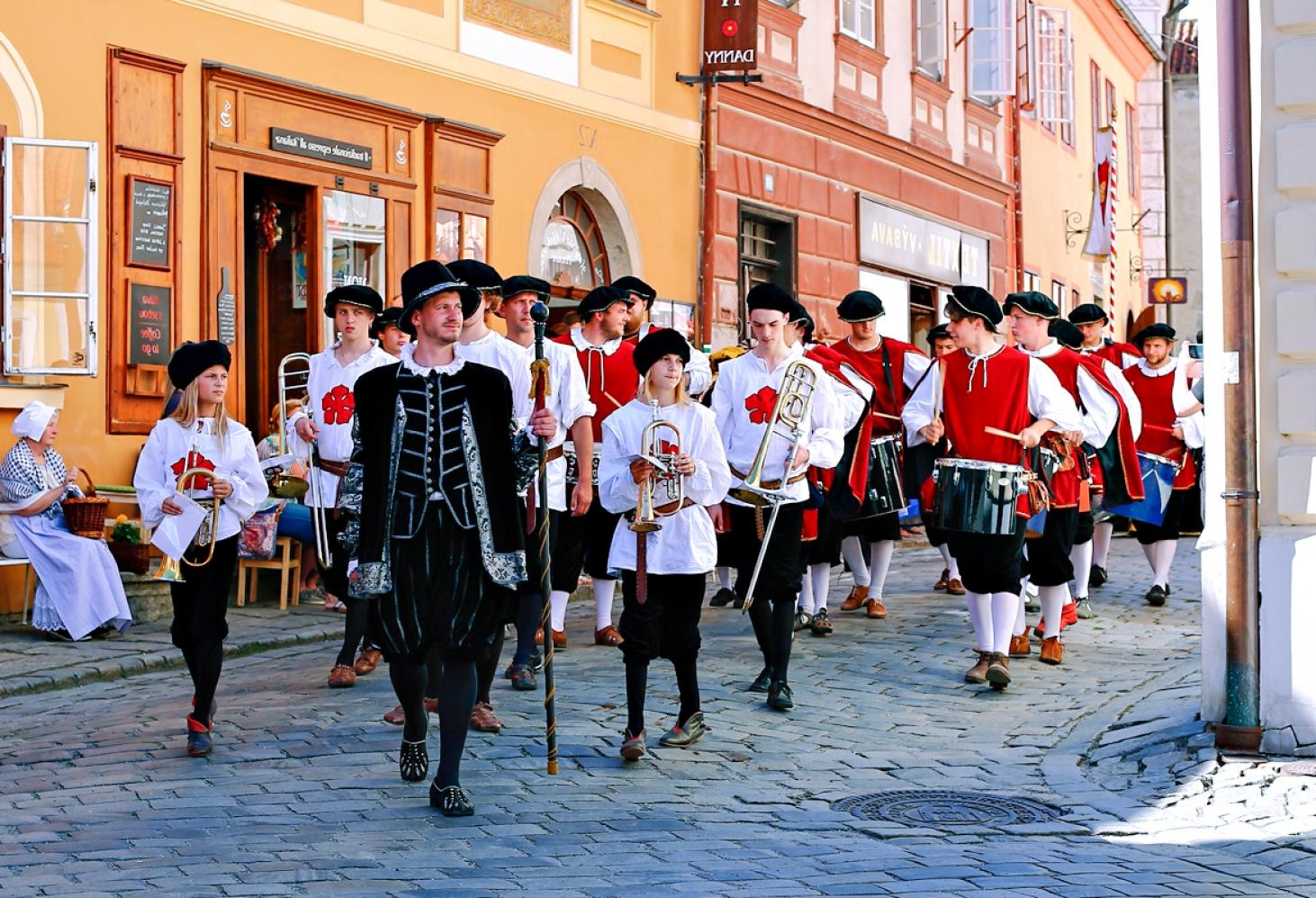 Фестиваль «Роза с пятью лепестками», Чески-Крумлов, Чехия 16.06.2017-25.06.2017