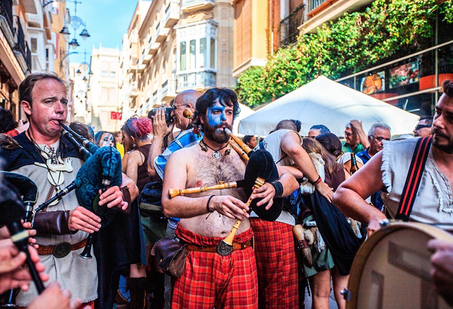 Фестиваль Карфагенян и Римлян, Картахена, Испания 15.09.2017–24.09. 2017