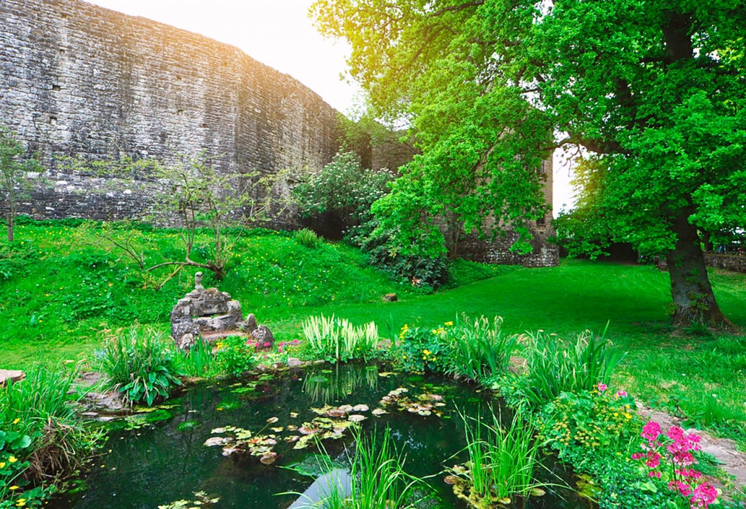 St Briavels Castle, Глостершир, Англия
