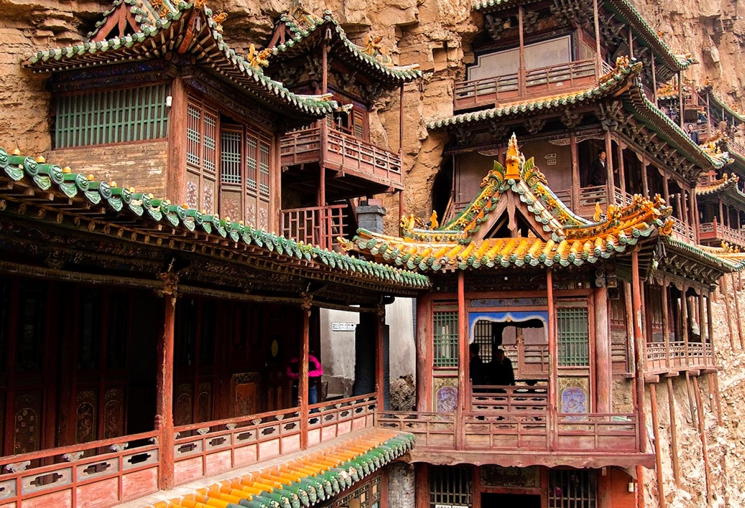 Сюанькун-сы (Висячий монастырь), Китай