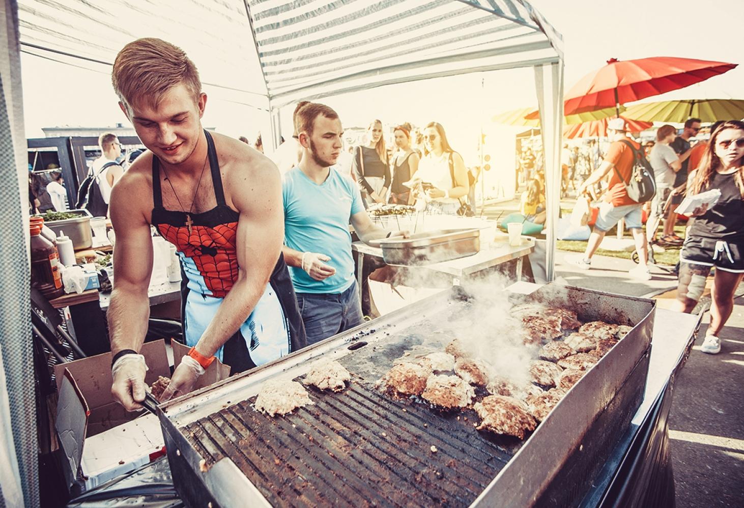 Гастрономический фестиваль «О, да! Еда!» в Москве 05.08.2017-06.08.2017