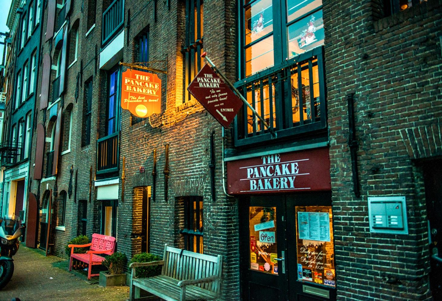 Пекарня The Pancake Bakery