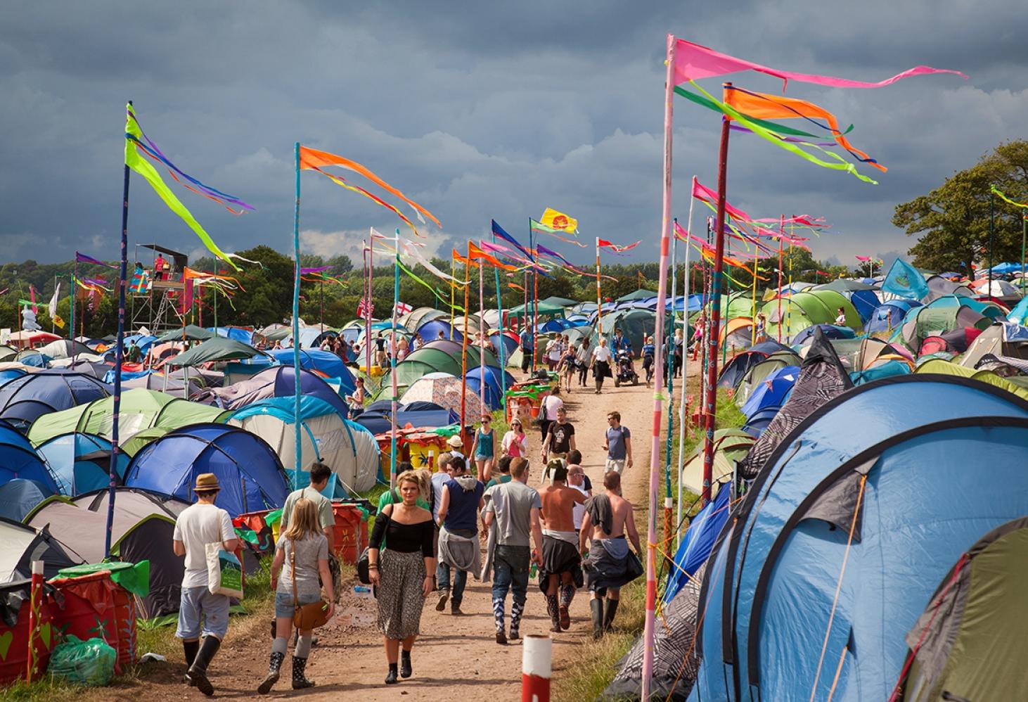 Glastonbury Festival (Великобритания, конец июня)
