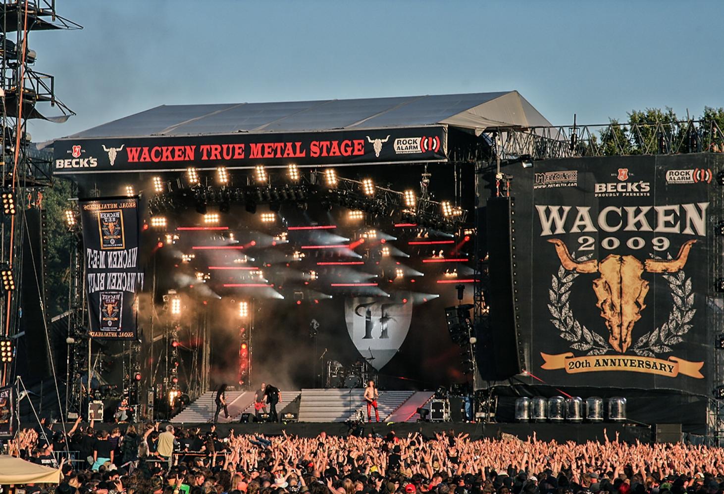 Wacken Open Air (Германия, первые выходные августа)