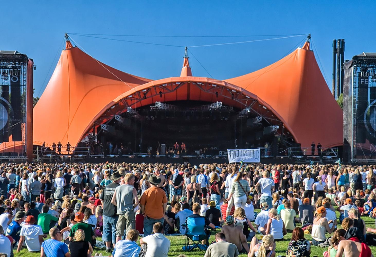 Roskilde Festival (Дания, конец июня-начало июля)