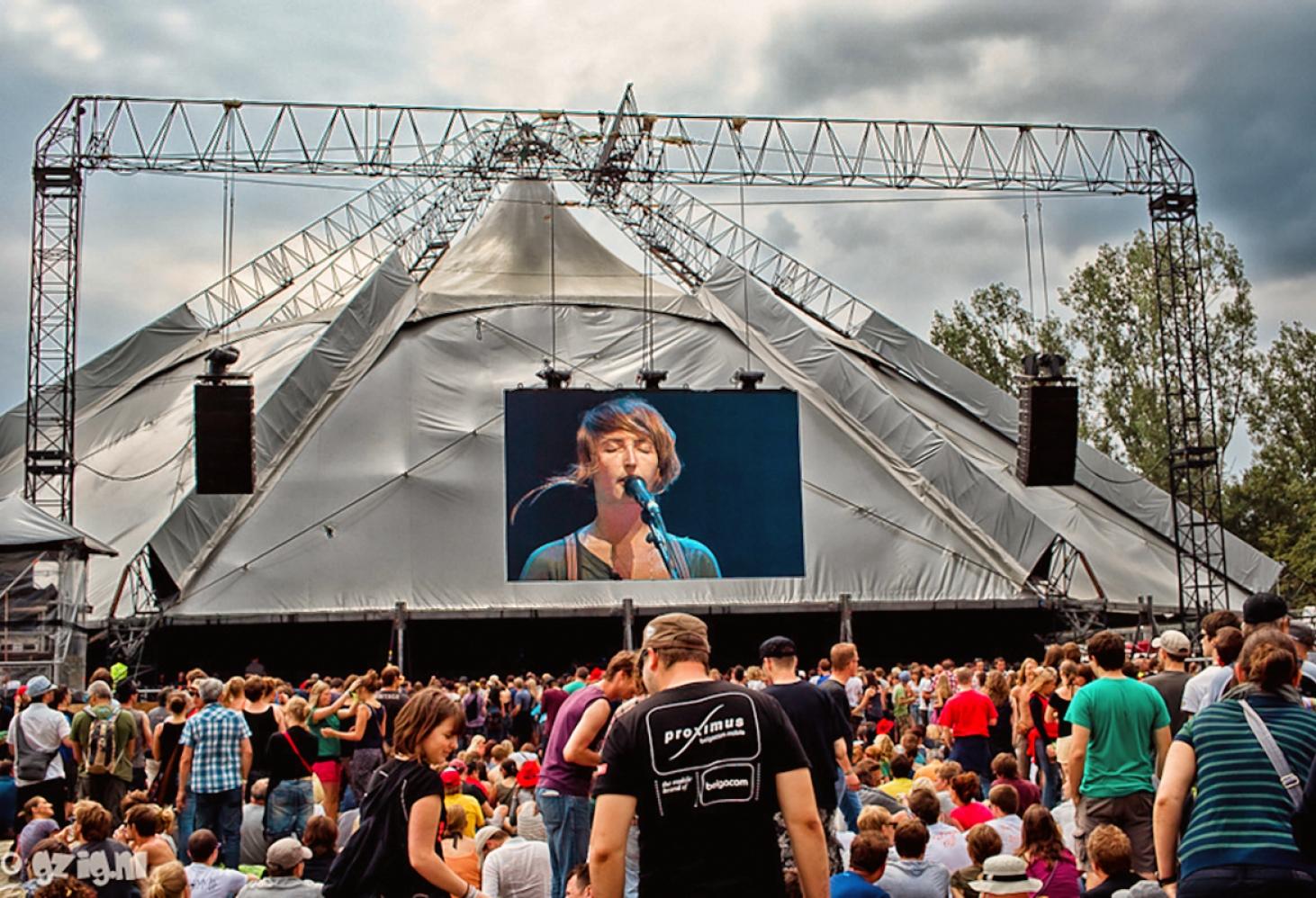 Rock Werchter (Бельгия, конец июня-начало июля)
