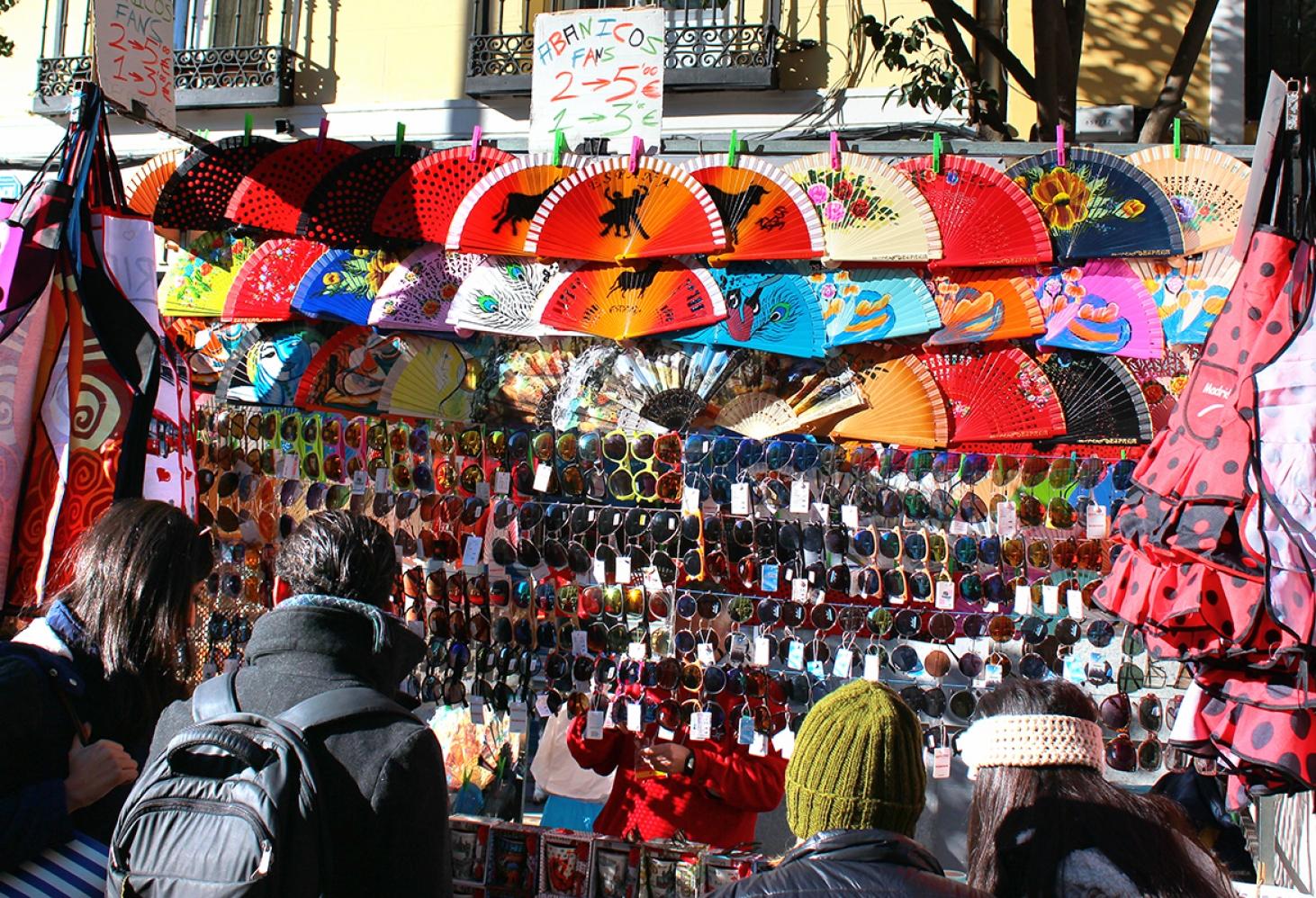 Mercado Rastro, Мадрид, Испания