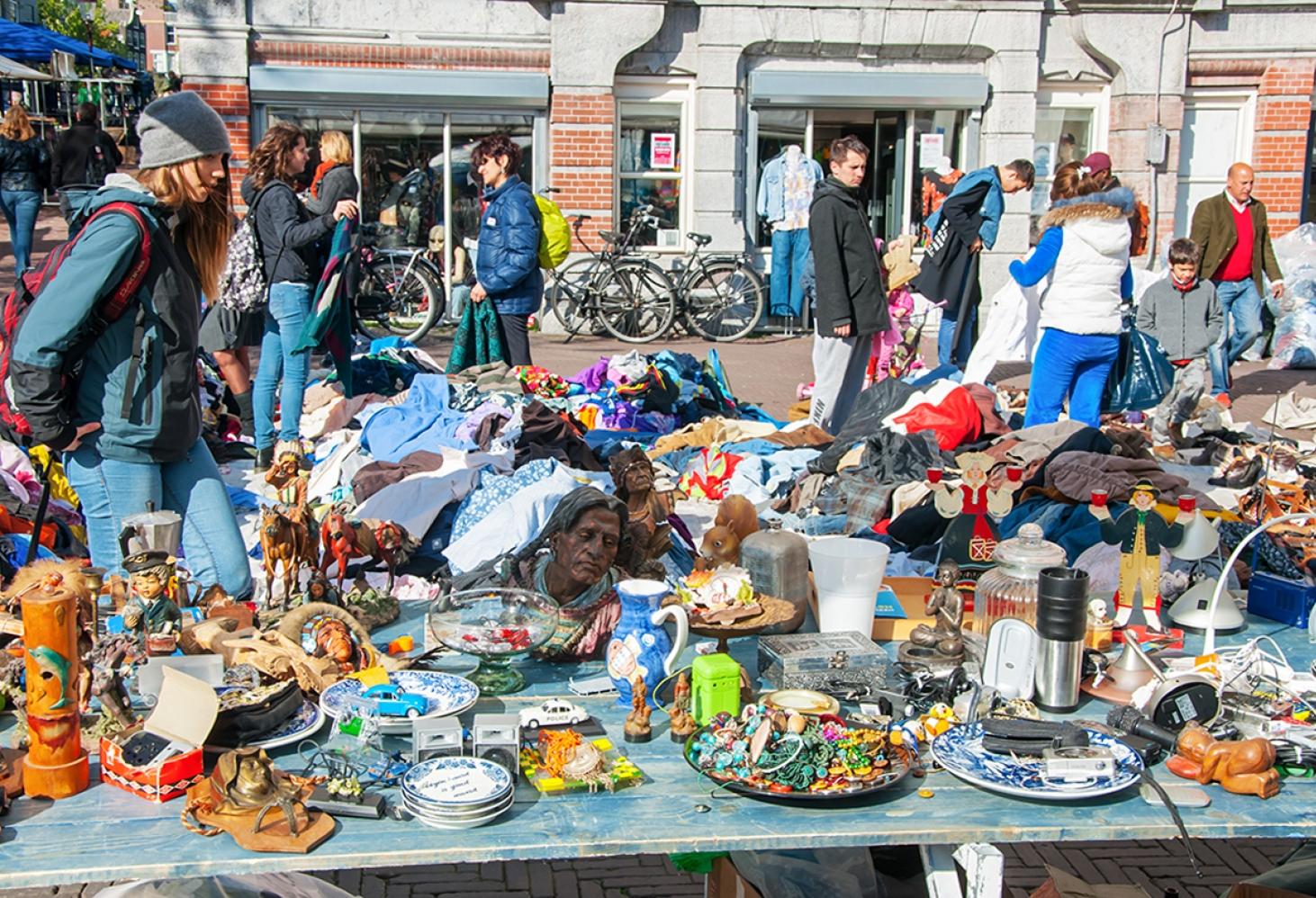 Waterlooplein, Амстердам, Нидерланды