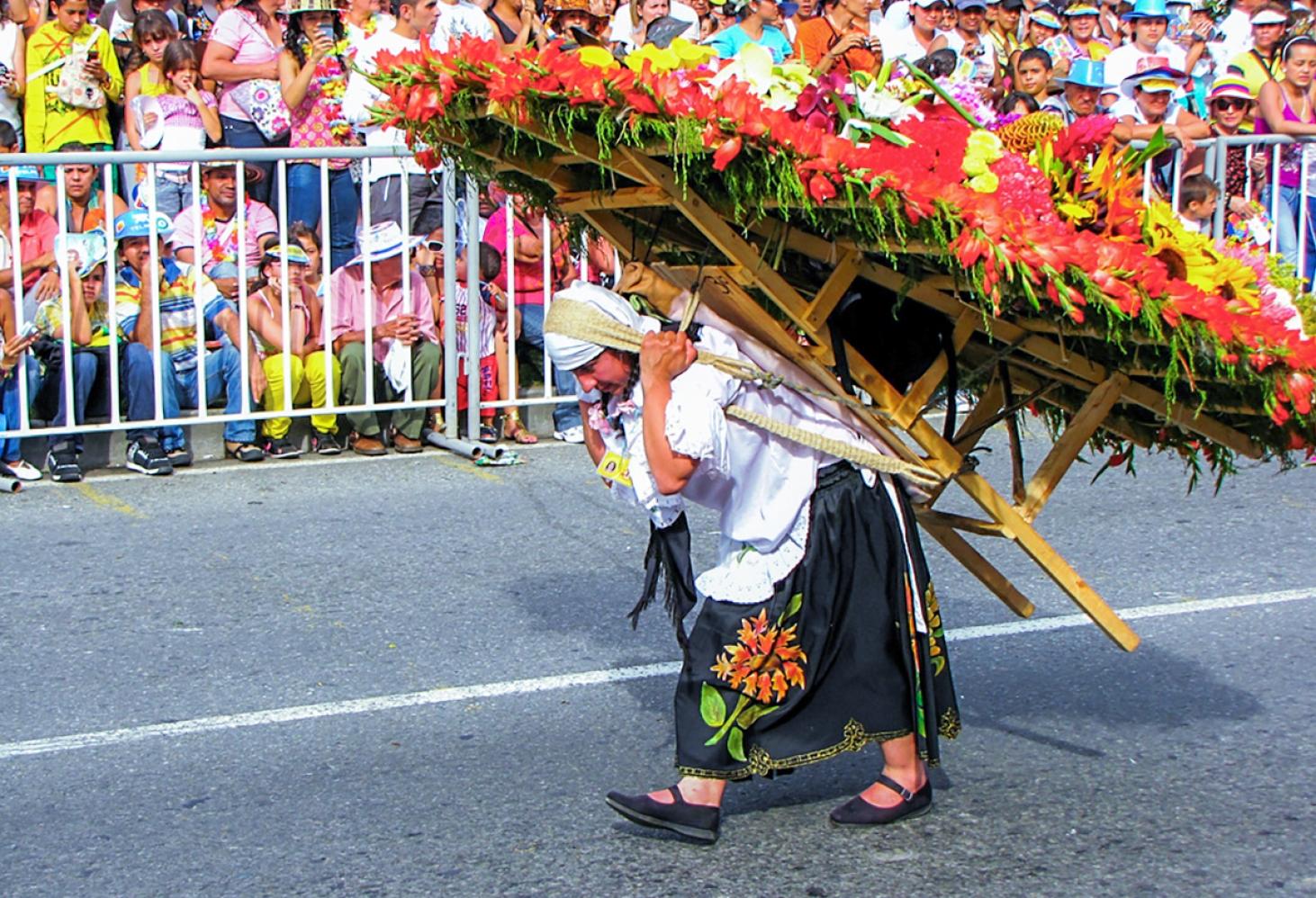 Фестиваль цветов в Медельин, Колумбия 28.07-06.08.2017