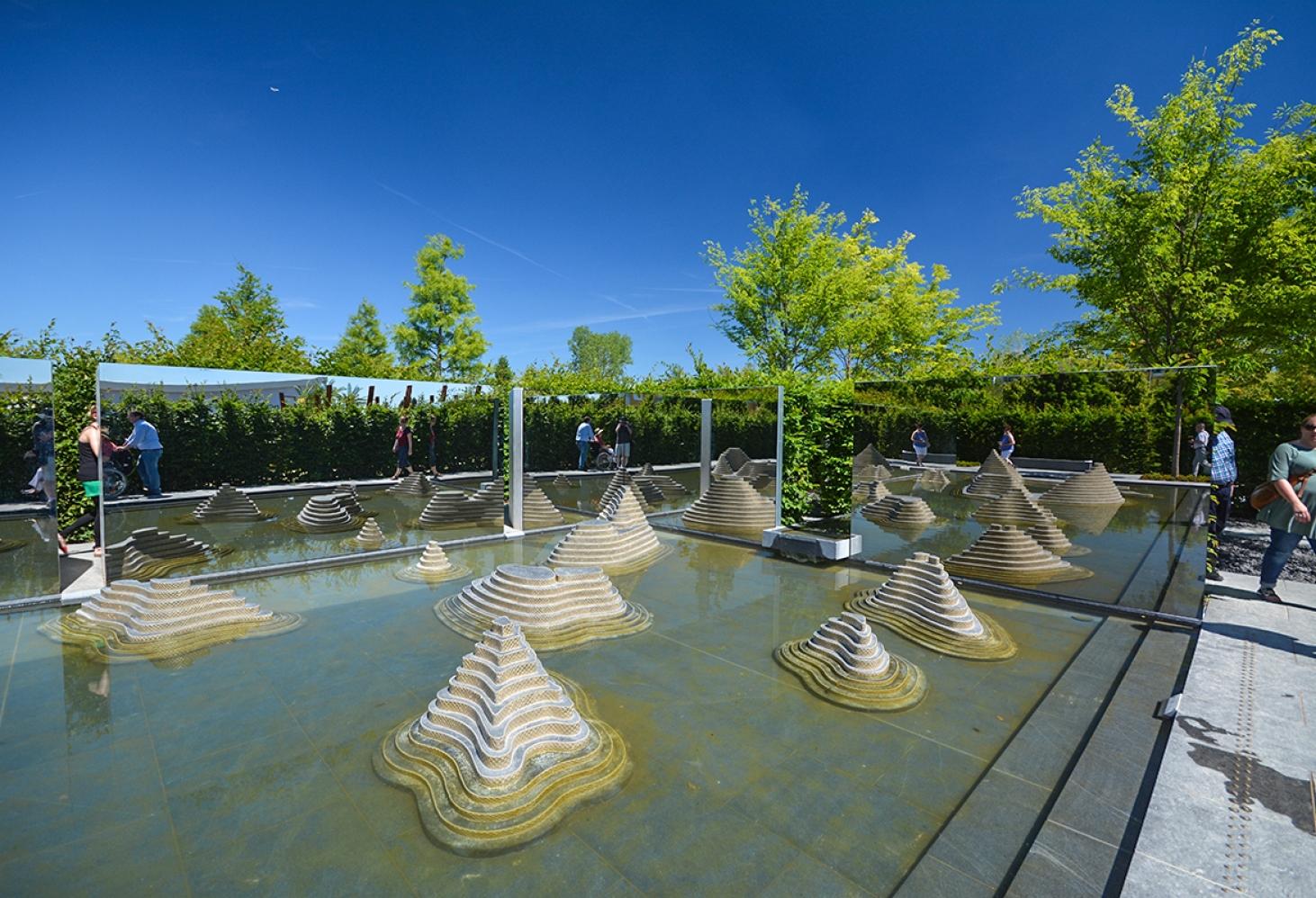 Сады Мира в Марцане