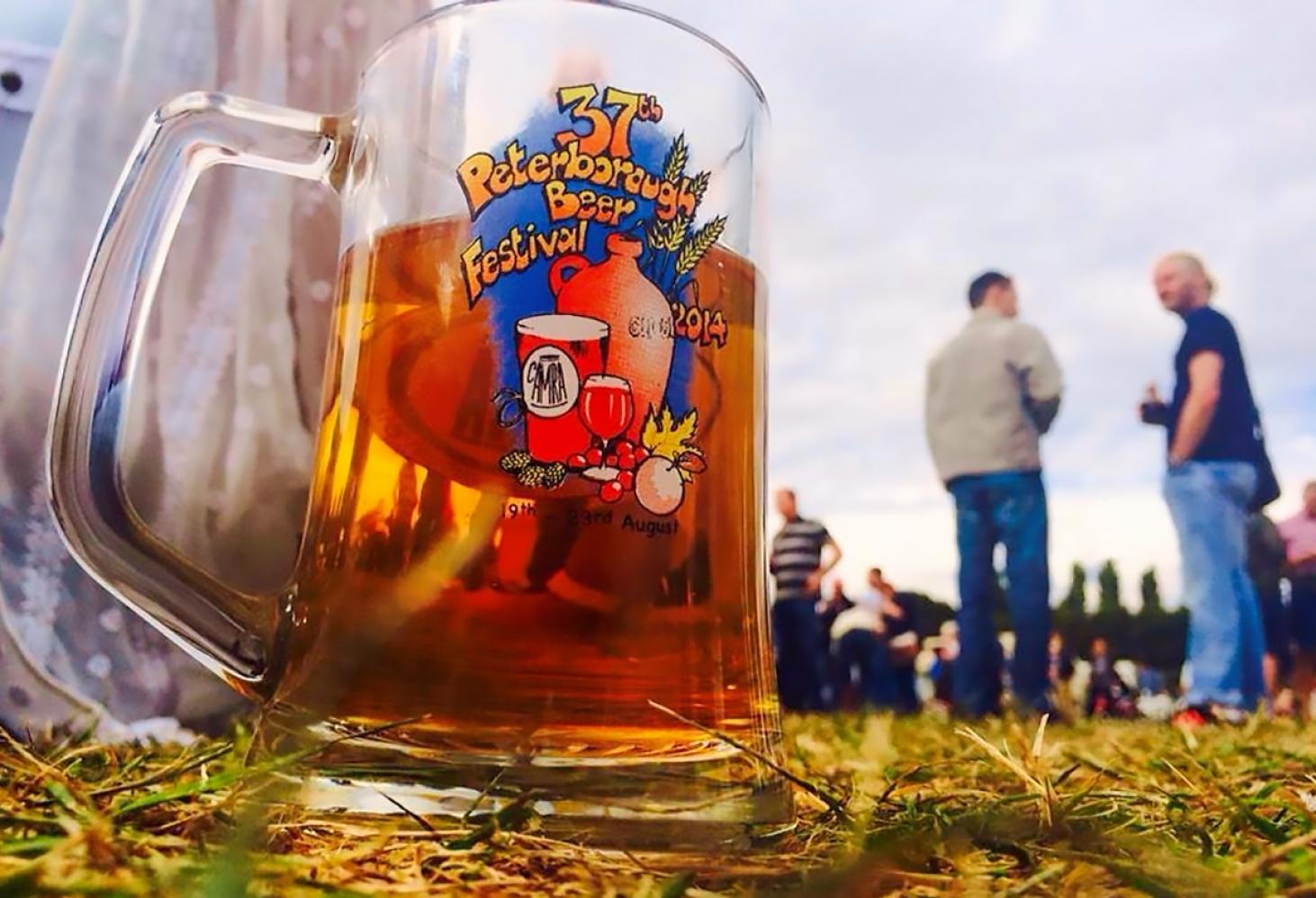 Пивной фестиваль в Петерборо