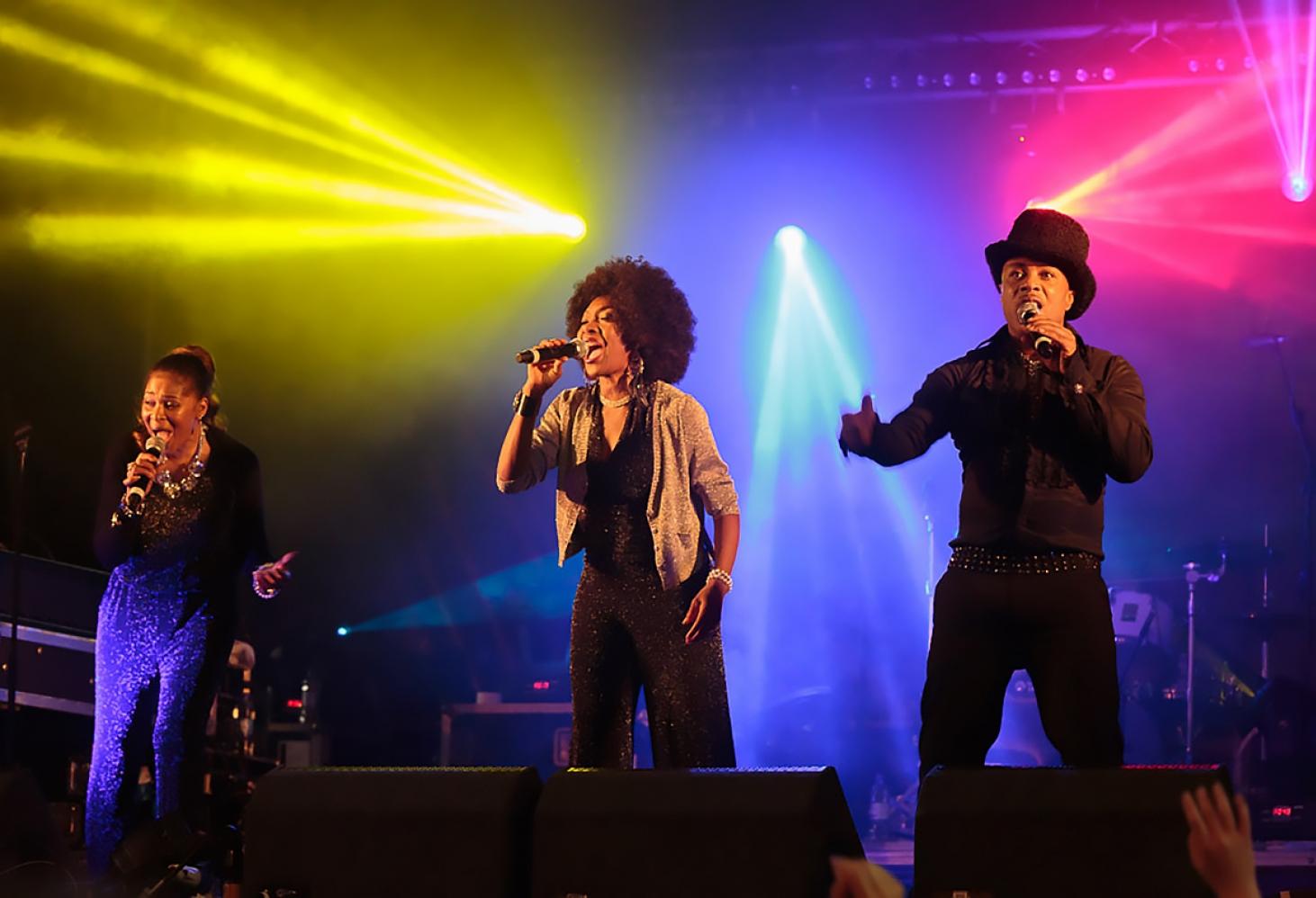 Valenok и группа Boney M