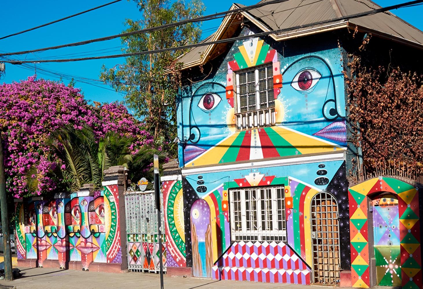 Вальпараисо и Сантьяго, Чили